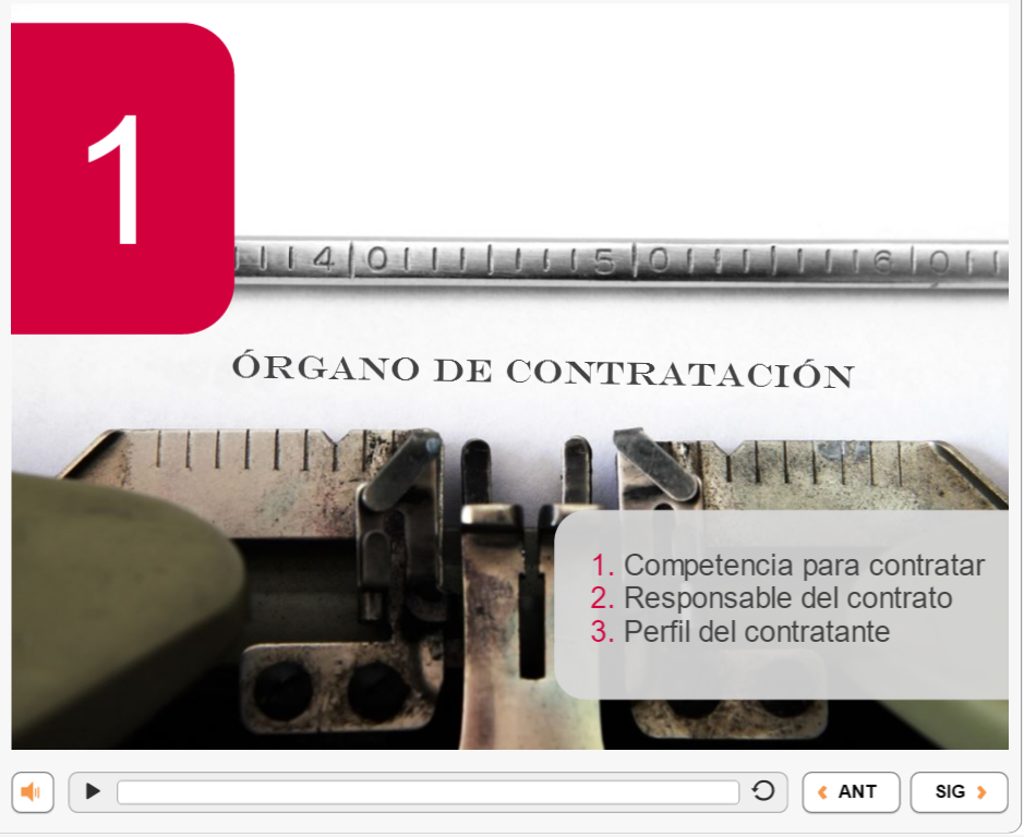 Contract Law ELearning In Spanish